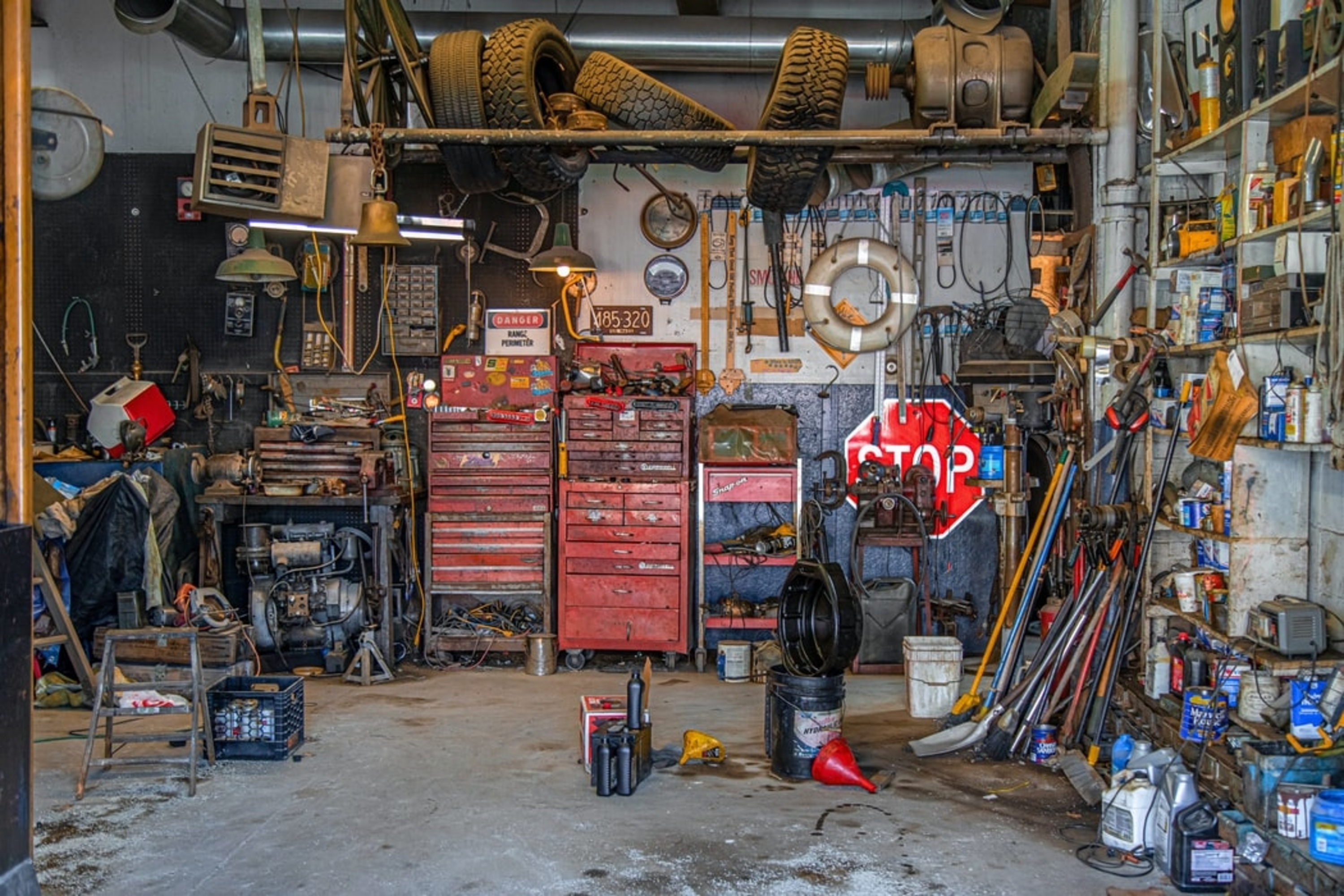 How to Pack A Garage Before Moving
